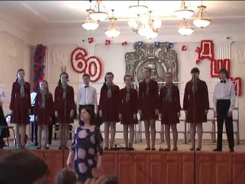 Отчетный концерт хорового отделения 2014