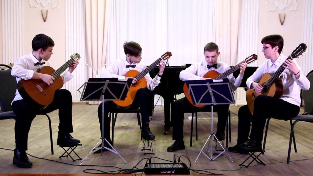 Отчётный концерт отделения народных инструментов