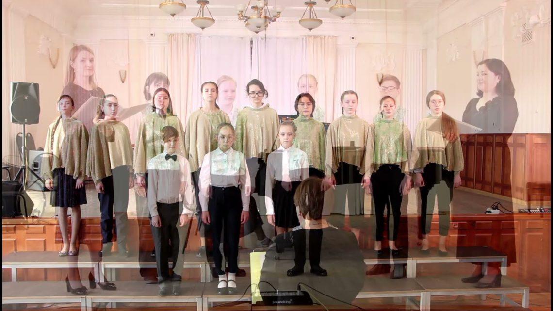 Отчетный концерт хорового отделения, часть 2